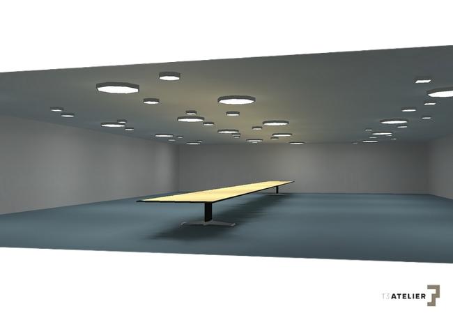 T3 Inwest Projekt Oświetlenia Sali Wielofunkcyjnej