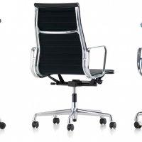aluminum chair Vitra - ekskluzywny fotel gabinetowy